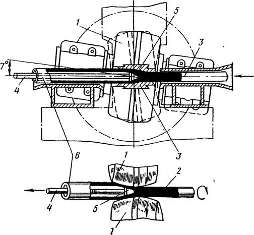 Схема прошивки заготовки в
